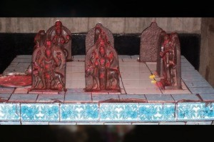 Lord Shri Ram Laxman & Sita Devi deities